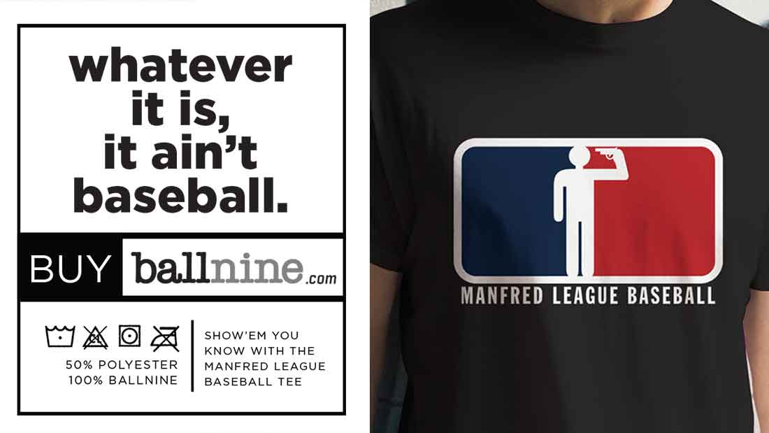 Manfred League Baseball T-Shirt