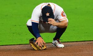 Altuve has th Yips