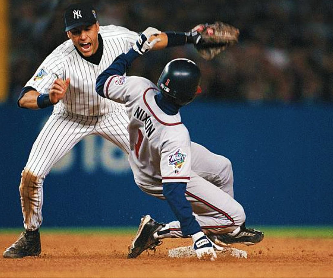 Nixon slides into Jeter