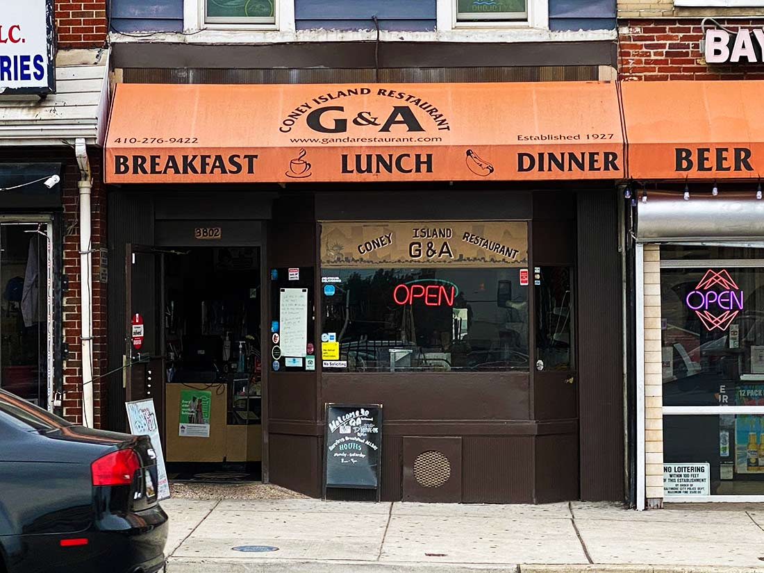G&A Storefront