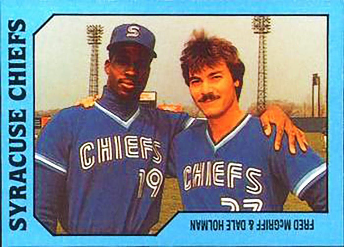 Dale Holman with Fred McGriff