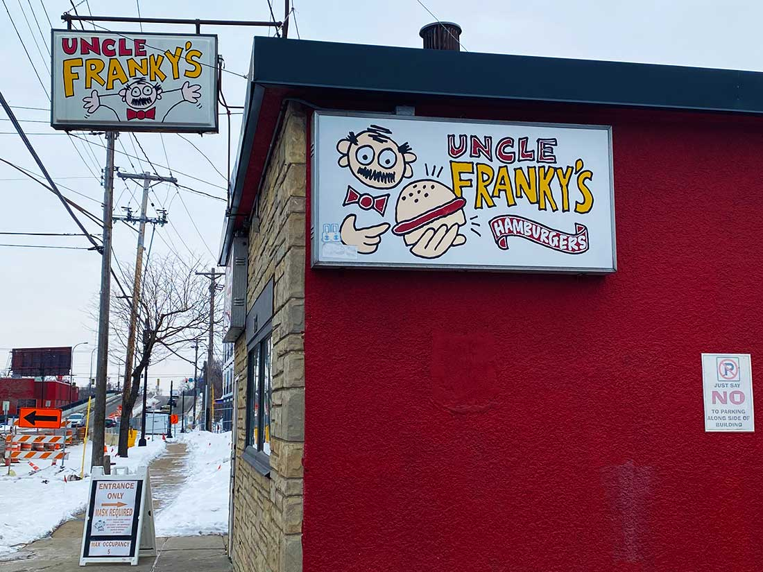 Uncle Franky's storefront