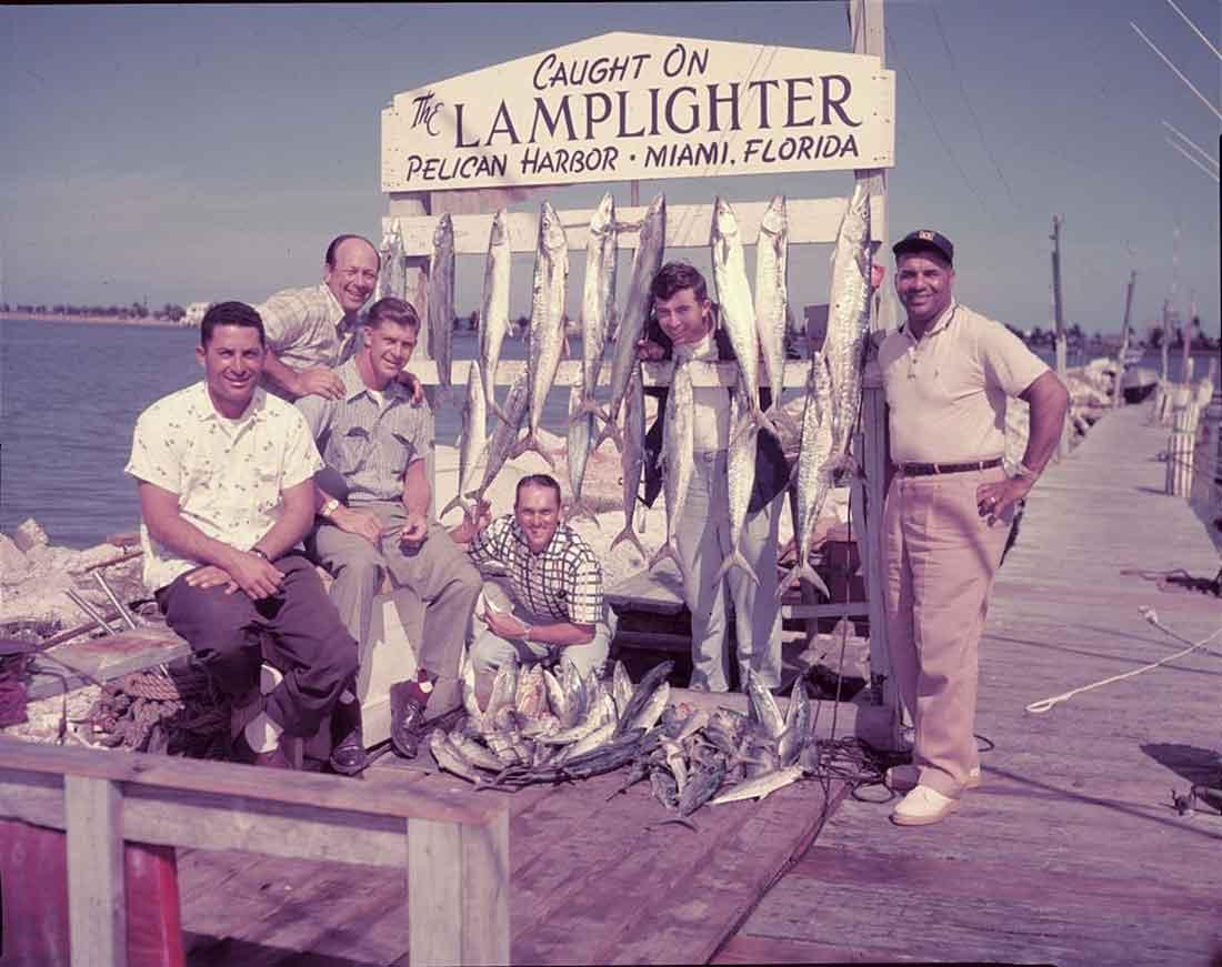 Dodgers Fishing